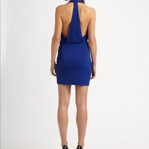 BCBG Dresses - BCBG Skye Blue Mini Dress
